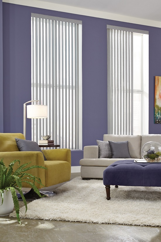 Long Vertical Blinds Installed by Our Pros are guaranteed to Impress.